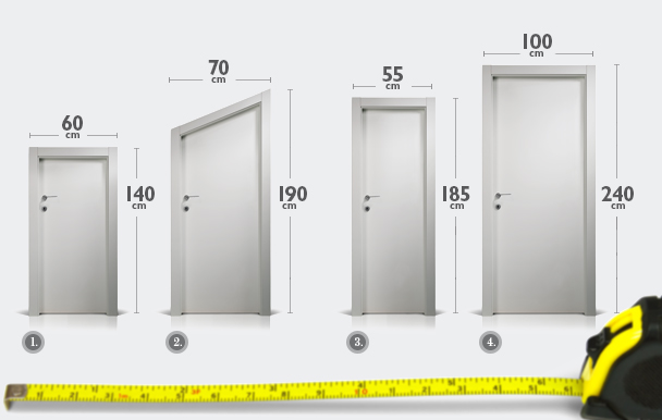 Petite porte sur mesure menuiserie image et conseil for Porte petite largeur