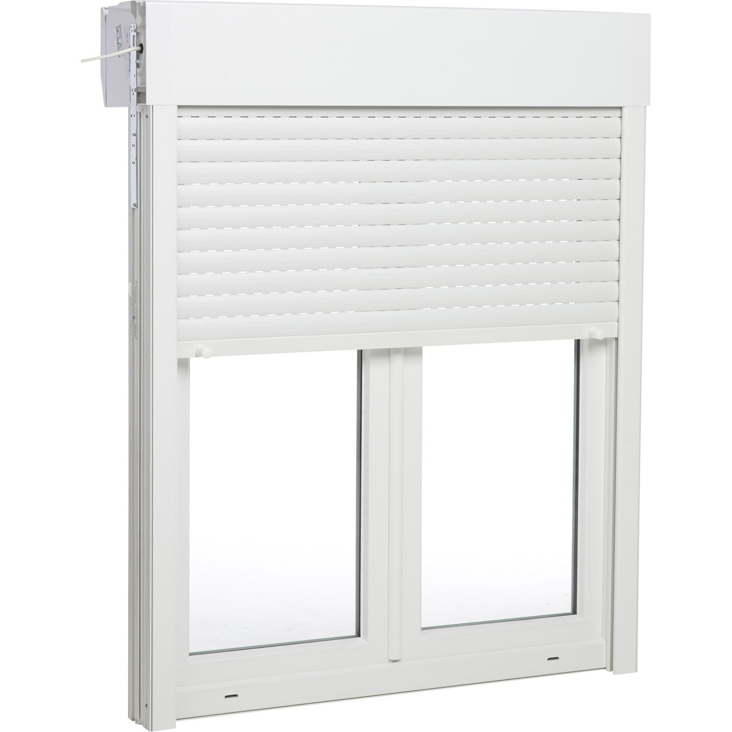 Accessoire volet pvc volet pvc porte fentre with for Volet battant pvc brico depot