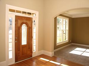 porte bois exterieur sur mesure menuiserie image et conseil. Black Bedroom Furniture Sets. Home Design Ideas