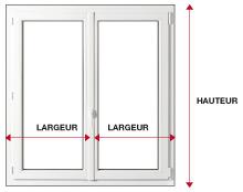 fenetre standard menuiserie image et conseil. Black Bedroom Furniture Sets. Home Design Ideas