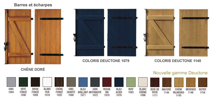 volet pvc couleur menuiserie image et conseil. Black Bedroom Furniture Sets. Home Design Ideas