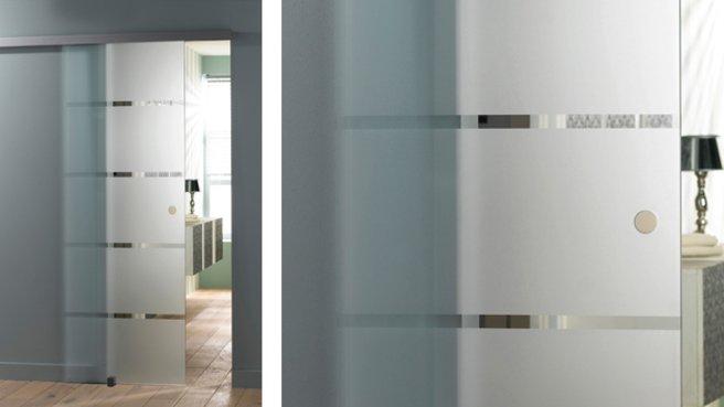 porte coulissante en verre a galandage menuiserie image et conseil. Black Bedroom Furniture Sets. Home Design Ideas