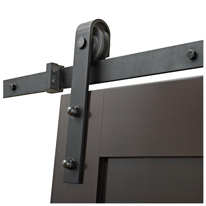 rail de porte coulissante suspendue menuiserie image et conseil. Black Bedroom Furniture Sets. Home Design Ideas