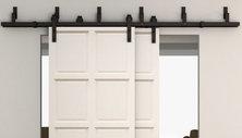 rail porte coulissante double menuiserie image et conseil. Black Bedroom Furniture Sets. Home Design Ideas