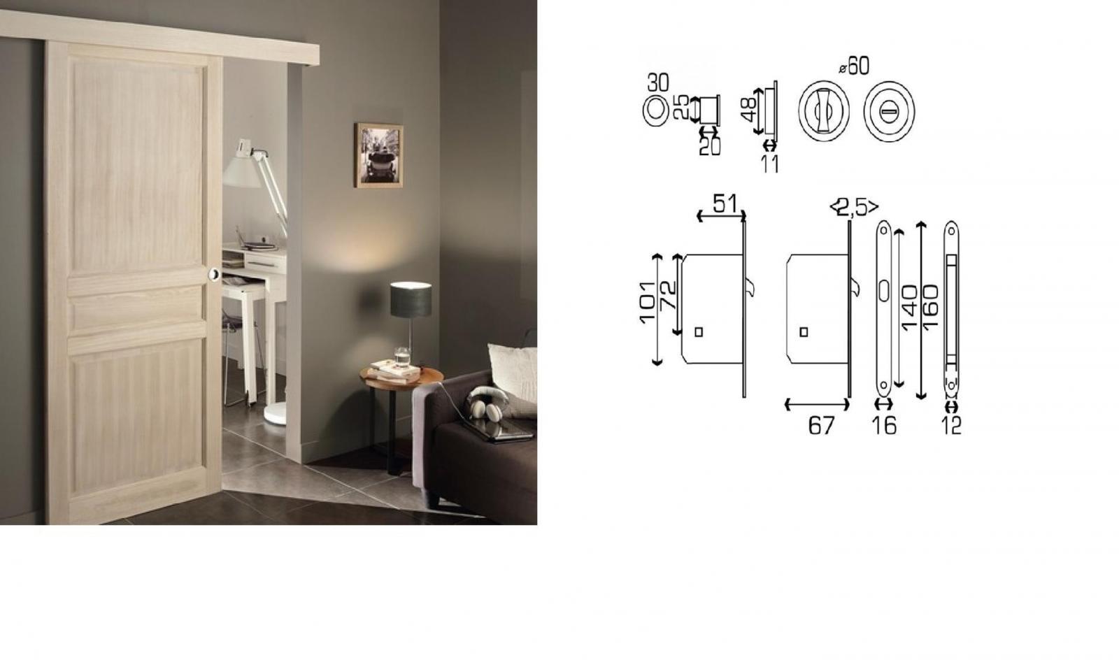 porte coulissante verrou menuiserie image et conseil. Black Bedroom Furniture Sets. Home Design Ideas