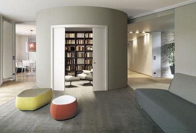 2 portes coulissantes salon menuiserie image et conseil for Porte de separation cuisine salon