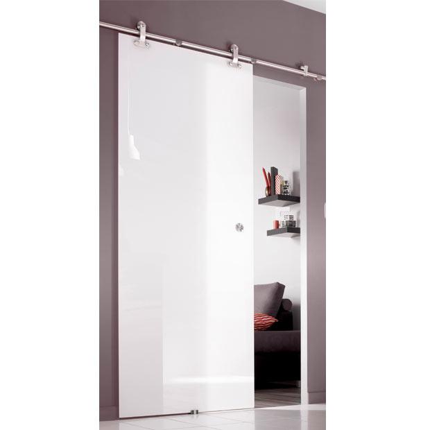 trendy porte coulissante vitre en applique with cloison coulissante lapeyre. Black Bedroom Furniture Sets. Home Design Ideas