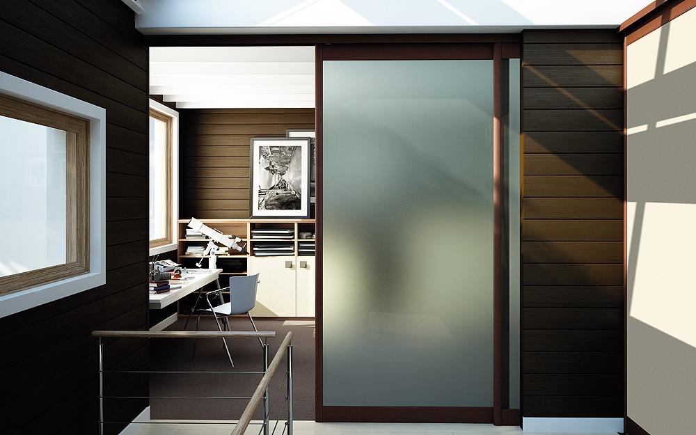 rails portes suspendues finest portes suspendues sans. Black Bedroom Furniture Sets. Home Design Ideas