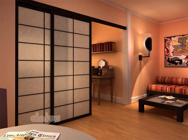 porte coulissante japonaise prix menuiserie image et conseil. Black Bedroom Furniture Sets. Home Design Ideas