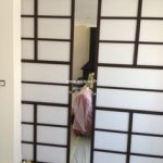 Porte coulissante japonaise placard