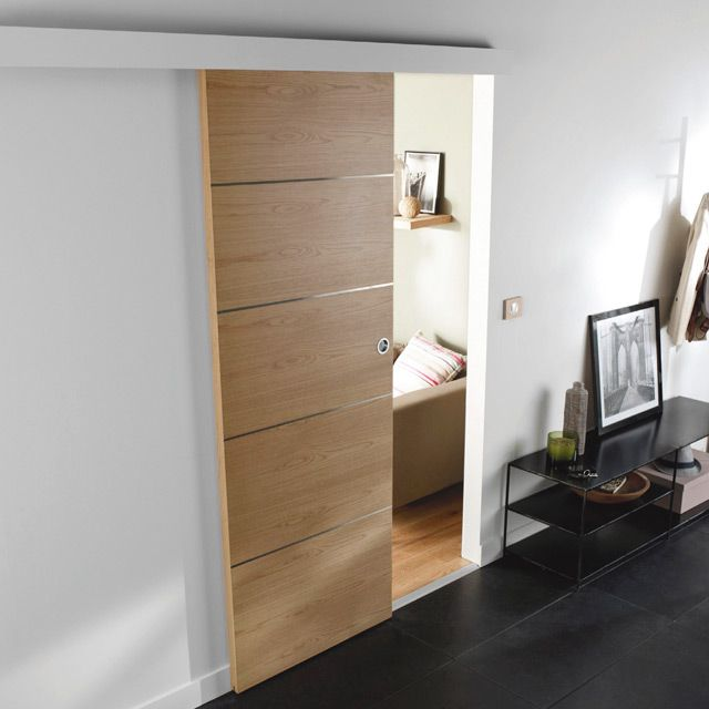 porte coulissante gain de place menuiserie image et conseil. Black Bedroom Furniture Sets. Home Design Ideas