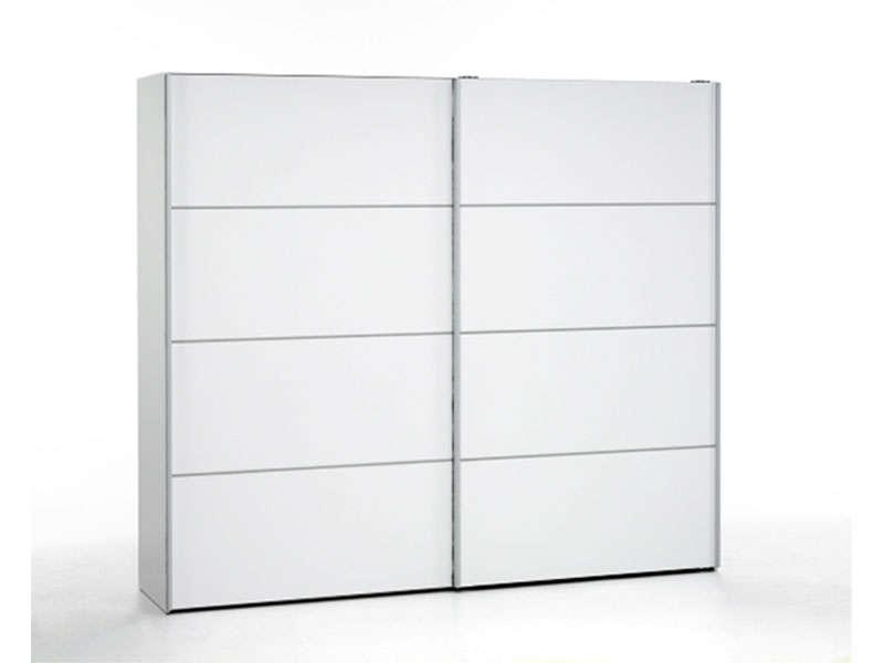 Armoire coulissante pas cher armoire blanche penderie | Tour de ...