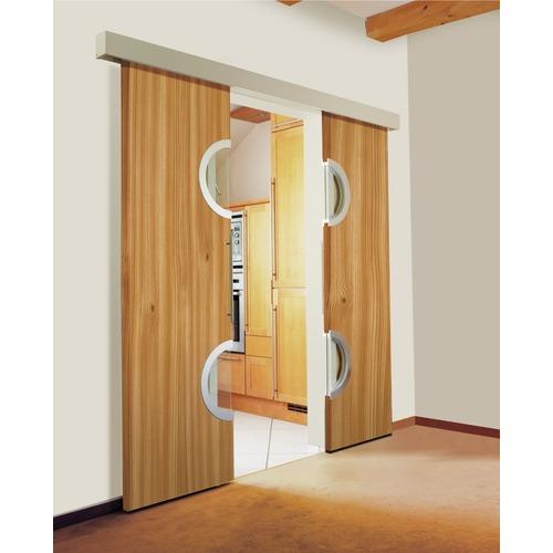Mecanisme Porte Coulissante Interieur Placard Portes Coulissantes - Porte placard coulissante et porte vitrée interieure 2 vantaux