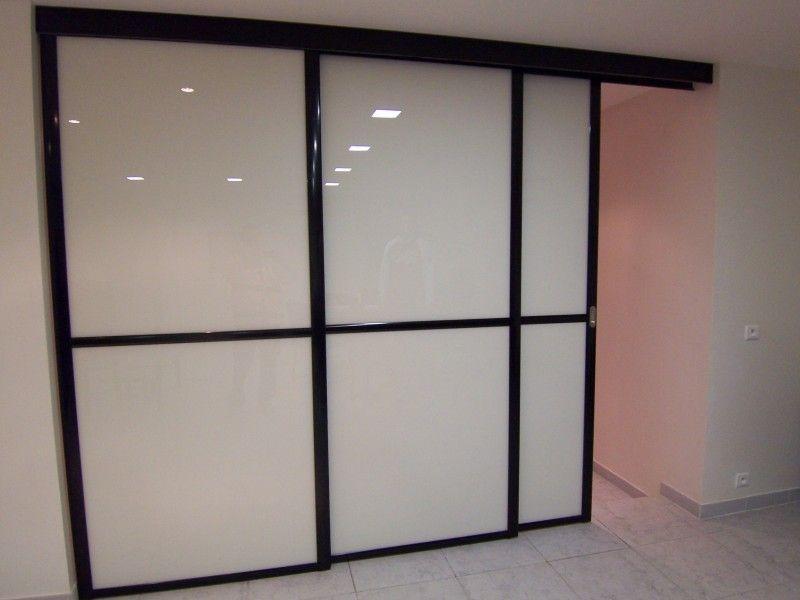 separation porte coulissante menuiserie image et conseil. Black Bedroom Furniture Sets. Home Design Ideas