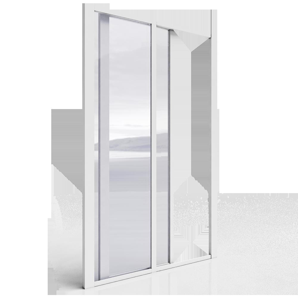 Portes coulissantes grande largeur menuiserie image et conseil - Largeur rail porte coulissante ...