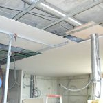 Faux plafond hotte