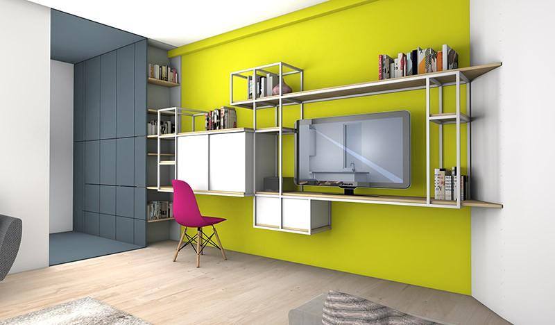 cloison amovible la maison france 5 menuiserie image et conseil. Black Bedroom Furniture Sets. Home Design Ideas