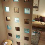 Separation mur en verre