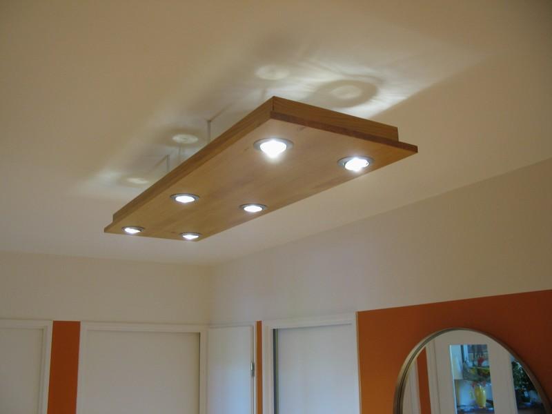 Comment brancher des spots dans un faux plafond brancher - Comment faire un faux plafond avec spot ...