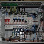 Tableau electrique fil trop court