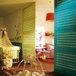 Cloison mobile chambre