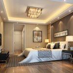 Faux plafond chambre à coucher platre