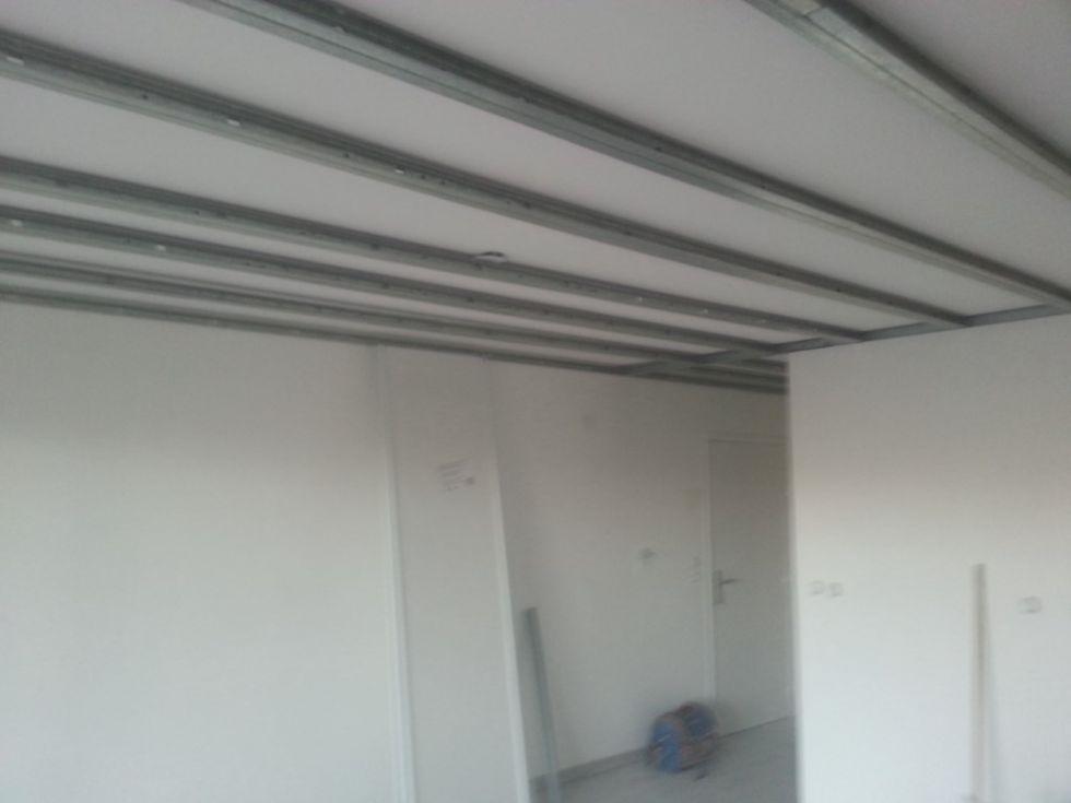 rail faux plafond menuiserie image et conseil