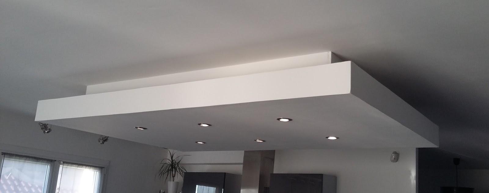 Favori Faux plafond ilot central - Menuiserie image et conseil ON66