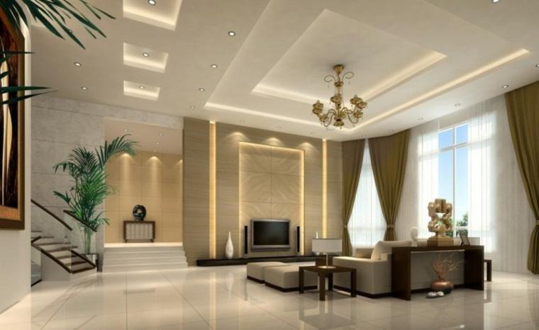Gut bekannt Faux plafond salon - Menuiserie image et conseil NU24